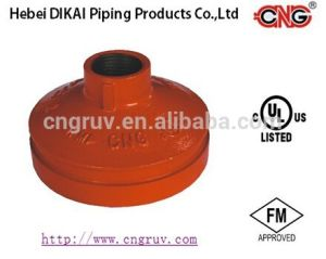 FM /UL Approved Threaded Concentric Reducer Grooved Pipe Fittings Ductile Iron Pipe Reducing Fitting pictures & photos