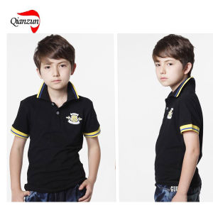 Child Pure Cotton Polo T Shirt (ZJ-6906) pictures & photos