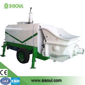 Diesel Engine Concrete Pump (VOLOV/LOVOLl) /CE&ISO9001 Ceterificate Concrete Pump
