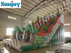 2010 Inflatable Zoo Theme Slide (SL169)