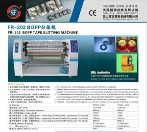 Fr-202 BOPP Adhesive Tape Cutting Machine (BOPP Slitting Machine, BOPP Slitter Rewinder Machine) pictures & photos