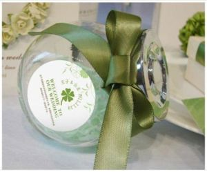 Glass Biscuit Bottle, Glass Canister for Cookies pictures & photos