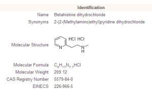 Betahistine Dihydrochloride (5579-84-0)