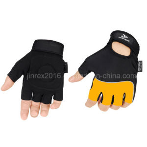 Bicycle Half Finger Cycling Sports Bikeequipment with Buckle Sports Glove pictures & photos