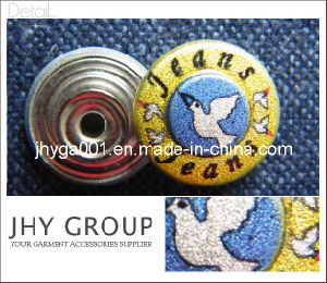 Fashion Jeans Button