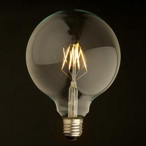LED Global Bulb G125 Big Balll E27 Base Dimming Clear Glass Lamp Bulb