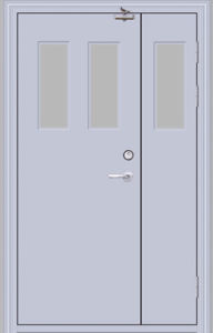 Fireproofing Steel Door / Fire Rated Door (YF-F05) pictures & photos