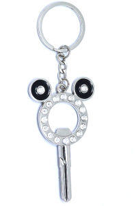 Metal Key Chain With Rhinestone (KC1309)