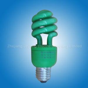 Green Half Spiral -- Energy Saving Lamp (62)