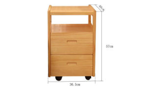 Solid Wooden Drawers Cabinet Modern Nightstand (M-X2077) pictures & photos