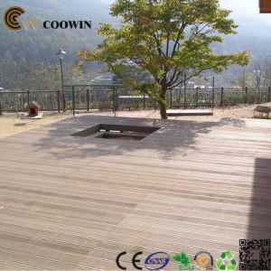 Colored Outside Balcony White WPC Decking pictures & photos