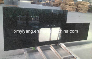 Verde Ubatuba Granite Countertop for Kitchen and Vanity pictures & photos