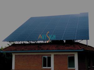 Solar Ground Mount for Concrete Flat Roof PV System pictures & photos
