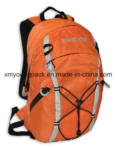 "Fashion Orange 420d Ripstop Nylon 15"" Outdoor Backpack pictures & photos"