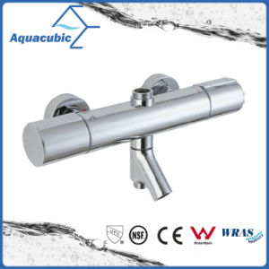 Round Bar Mixer Shower Set Thermostatic Valve with Spout for Bathtub (AF7365-7) pictures & photos