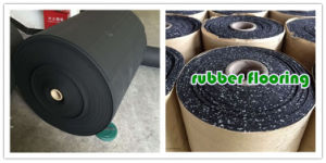 Spray EPDM Rubber Sheet Floor Mat Flooring pictures & photos