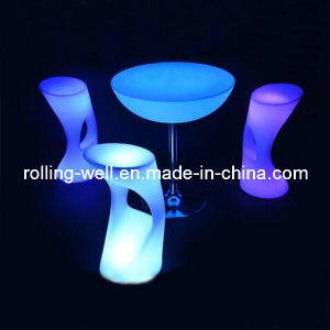 Remote Control Waterproof Outdoor Use RGB LED Bar Stool (RWS)