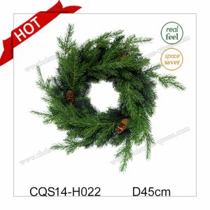 Dia. 50cm New Natural Plastic Christmas Ornaments Party and Holiday Decoration pictures & photos