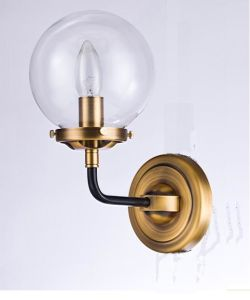 Metal Wall Lamp with Glass Shade Whw-254 pictures & photos