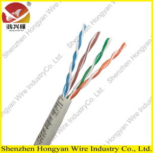 CE Approval 0.50mm Copper UTP Cat5e Cable