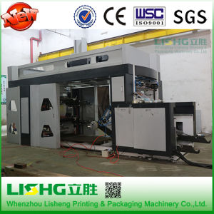 Lishg Six Colors High Speed Film Ci Flexographic Printing Machine pictures & photos