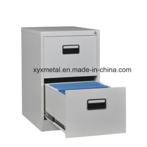 Commercial Furniture Kd 2 Drawer Office Metal File Cabinet pictures & photos