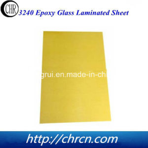 Electrical Insulation Material Epoxy Glass Fabric Laminated Sheet 3240 pictures & photos