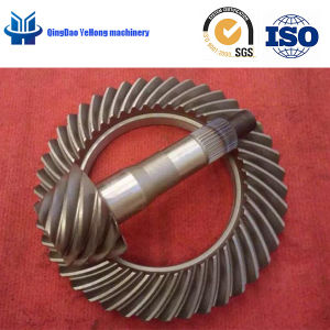 BS2700 Truck Drive Axle Gear Ratio 10/43 Differential Parts Spiral Bevel Gear pictures & photos