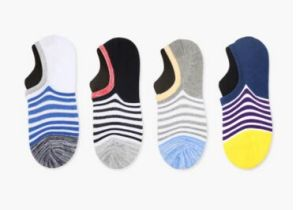Lattest Fashion Women Cotton Boat Sock pictures & photos