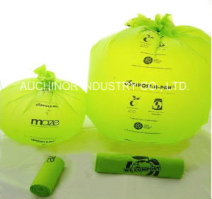 Wholesale Biodegradable Compostable Bag on Roll pictures & photos