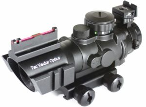 Vector Optics Goliath 4X32 Tactical Compact Riflescope Fiber. 223 Sight pictures & photos