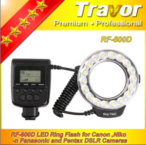 Travor New Macro Flash RF-600d for Nikon/Canon/Olympurs (GN21@ISO100)
