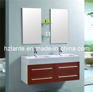 Newest Design Double Sink Bathroom Cabinet pictures & photos