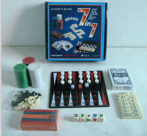 7in 1 Game in Color Box Packing, Design Is Available