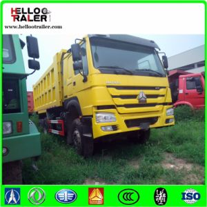 Sinotruk HOWO 25m3 Dump Truck 371HP Diesel Heavy Lorry Tipper Truck pictures & photos