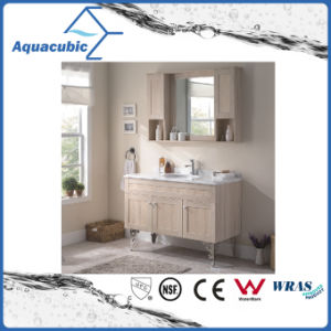Bathroom Plywood Vanity with Melamine Surface (ACF8908) pictures & photos