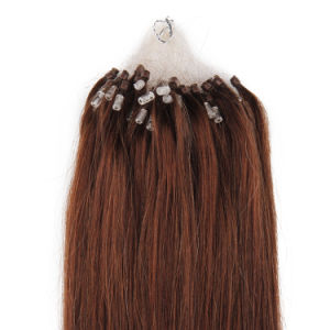 Wholesale Straight Micro Ring Loop Human Hair Extension Strands Products pictures & photos