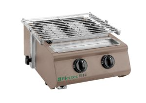 Gas BBQ Grills Brown Color Body pictures & photos