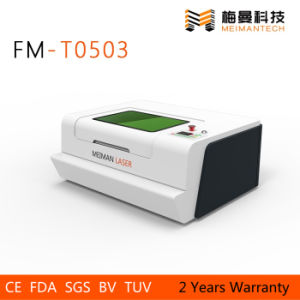Paper Mini Laser Cutter FM-T0605 with 40W pictures & photos