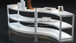 White Color Display Stand for The Shoes Shop, Gondola pictures & photos