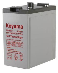 2V Stationary Gel Battery for Telecom System 2V600ah pictures & photos