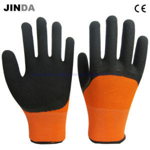 Latex Foam Coated Mechanic Work Gloves (LH307) pictures & photos