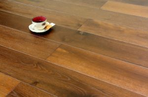 Carbonized Hardwood Parquet / Oak Engineered Wood Floor pictures & photos