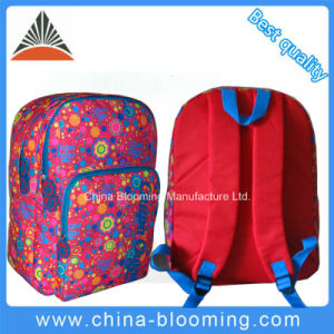 Girls 2 Compartments Subilimation School Student Backpack Bag pictures & photos