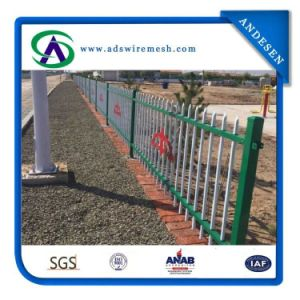 Welded Wrought Iron Fences/ Australia Strength Safety Welded Steel Fence pictures & photos