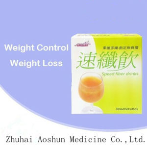 Natural Herbal Slimming Powder Slim Weight Loss Speed Fiber Drinks Tea pictures & photos