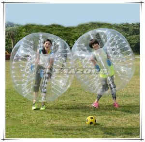 Hot Sale Sports Game Clear Inflatable Bubble Football Factory Price pictures & photos