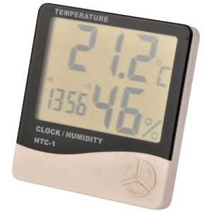 Cj Table Style Humidity and Thermometer (HTC-1) pictures & photos