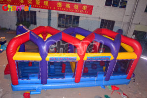 High Quality Inflatable Boulder Dash Run for Outdoor Games (chsp290) pictures & photos