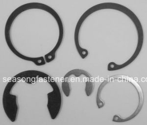 Circlip / Retaining Ring / Washer (DIN471 / DIN472 / DIN6799) pictures & photos